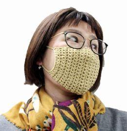 マスク かぎ針